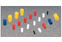 O-rings, Grommets and Vacuum Caps - Vacuum Line Caps - Moroso Performance Products - Moroso Vacuum Cap Assortment