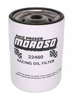 "Oil Filters - Spin-On - Moroso Racing Oil Filters - Moroso Performance Products - Moroso Long Chevy Racing Oil Filter - Chevy and Others - 13/16"" -16 UNF Thread"