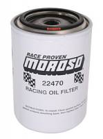 "Oil Filters - Spin-On - Moroso Racing Oil Filters - Moroso Performance Products - Moroso Ford, Mopar Racing Oil Filter - Ford and Chrysler - 3/4"" -16 UNF Thread"