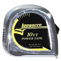 "Measuring Tools & Levels - Tape Measures - Longacre Racing Products - Longacre Tape Measure - 3/4"" x 10 Ft."