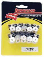 "Line Clamps - Adel Line Clamps - Longacre Racing Products - Longacre Adel Line Clamps - 3/16"" I.D. Steel Brake Lines (Pack of 10)"