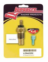 "Cockpit & Interior - Longacre Racing Products - Longacre 230° Water Temp 3/8"" NPT Sender Only"