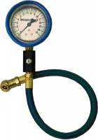 "Tire Gauges - Standard Tire Pressure Gauges - Intercomp - Intercomp Deluxe Liquid-Filled Air Pressure Gauge 2.5"" - 0-15 PSI x 1/2 PSI Increments"