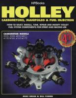 Books, Video & Software - Carburetor Books - HP Books - Holley Carburetors, Manifolds and Fuel Injection - By Bill Fisher & Mike Ulrich - HP1052