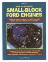 Engine Books - Ford Engine Books - HP Books - How to Rebuild Small-Block Ford Engines - By Tom Monroe - HP89