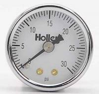 Gauges and Data Acquisition - Holley Performance Products - Holley Fuel Pressure Gauge - 0-30 PSI