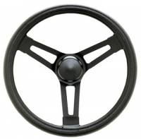 "Competition Steering Wheels - Steel - 15"" Steel Steering Wheels - Grant Products - Grant Performance Series 15"" Steel Steering Wheel - Smooth Grip - 3-1/8"" Dish"