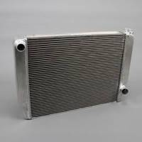 "Griffin Radiators - Griffin Chevy Style Radiators - Griffin Thermal Products - Griffin HP Series Aluminum Radiator - 27.5"" x 19"" x 3"" - Chevy"