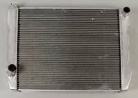 "Griffin Radiators - Griffin Ford Style Radiators - Griffin Thermal Products - Griffin HP Series Aluminum Radiator - 26"" x 19"" x 3"" - Ford"