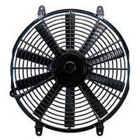 "Flex-A-Lite - Flex-A-Lite 14"" Trimline Reversible Electric Fan - 1350 CFM - Amp Draw: 9.5"