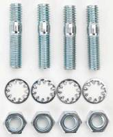 "Hardware and Fasteners - Edelbrock - Edelbrock Carburetor Stud Kit - Includes Studs/Nuts/Washers - 5/16""-18 Thread - 1.375"" Length (Set of 4)"
