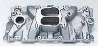 Intake Manifolds - SB Chevy - Edelbrock Intake Manifolds - SBC - Edelbrock - Edelbrock Performer Intake Manifold - SB Chevy - For 1987 & Later Cast Iron Cylinder Heads (Idle-5500 RPM)