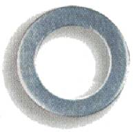 "Brake Fittings, Lines and Hoses - Banjo Brake Adapter Crushwashers - Earl's Performance Plumbing - Earl's AN 901 Aluminum Crush Washers -03 AN, 3/8"" I.D. - (10 Pack)"