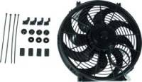 "Electric Fans - Allstar Performance Electric Fan - Allstar Performance - Allstar Performance Reversible Electric Fan  - 10"" Curved Blade - 980 CFM"