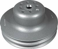 "Water Pump Pulleys - V-Belt Water Pump Pulleys - Allstar Performance - Allstar Performance Aluminum 2"" Groove Corvette (Long) Water Pump Pulley - 6-5/8"" Diameter"