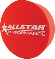 "Wheel Parts & Accessories - Mud Plugs - Allstar Performance - Allstar Performance 5"" Foam Mud Plug - Fits 15"" Wheels - Red"