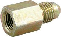 """Gauge Parts & Accessories - Gauge Fittings & Adapters - Allstar Performance - Allstar Performance 1/8"""" Female Pipe to -04 AN Gauge Fitting"""