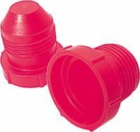 Caps & Plugs - Plastic Caps & Plugs - Allstar Performance - Allstar Performance -08 AN Plastic Plugs - (20 Pack)