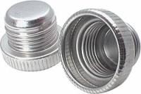Dust Caps & Plugs - Aluminum Dust Caps & Plugs - Allstar Performance - Allstar Performance -10 AN Aluminum Plugs - (10 Pack)
