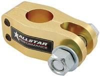 "Panhard Bar Mounting Brackets - Clamp-On Panhard Bar Mounts - Allstar Performance - Allstar Performance Aluminum Panhard Bar Clevis - Fits 1-1/2"" Tubing"