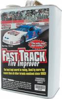 Wheels and Tire Accessories - Fast Track Tire Improver - Fast Track Tire Improver - 1 Gallon Can
