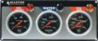 Analog Gauge Panels - 3 Gauge Dash Panels - Allstar Performance - Allstar Performance Auto Meter Sport-Comp 3 Gauge Panel - OP/WT/OT