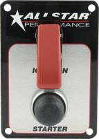 Switch Panels and Components - Switch Panels - Allstar Performance - Allstar Performance Standard Ignition Switch Panel w/ Flip-Up Switch