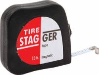 Wheels & Accessories - Tire Stagger Tapes - Allstar Performance - Allstar Performance Economy Tire Tape - 10 Ft.