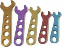 Hose & Fitting Tools - AN Wrenches - Allstar Performance - Allstar Performance Aluminum AN Wrench Set