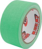 "ISC Racers Tape - ISC Racers Tape Gaffers Tape - 2"" Flourescent Green - 45 Ft."