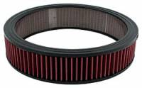 """Universal Round Air Filters - 14"""" Round Air Filters - Allstar Performance - Allstar Performance 14"""" x 3"""" Washable Air Filter Element"""