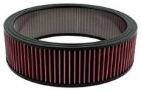 """Universal Round Air Filters - 14"""" Round Air Filters - Allstar Performance - Allstar Performance 14"""" x 4"""" Washable Air Filter Element"""