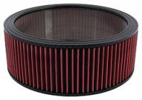 """Universal Round Air Filters - 14"""" Round Air Filters - Allstar Performance - Allstar Performance 14"""" x 5"""" Washable Air Filter Element"""