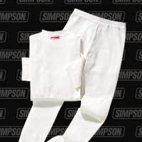 Underwear - Simpson Race Products - Simpson Soft Knit Nomex® Crew Neck Underwear - Short Sleeve