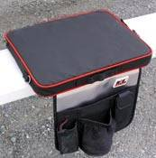 Crew Apparel - Gear Bags - Racing Electronics - Racing Electronics Paded Seat Cushion, Scanner Tote Bag