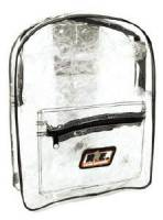 Crew Apparel - Gear Bags - Racing Electronics - Racing Electronics Clear Backpack
