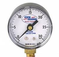 Bleeders & Accessories - Kwik-Change Bleeders - Kwik-Change Products - Kwik-Change Products 30 PSI Gauge Head