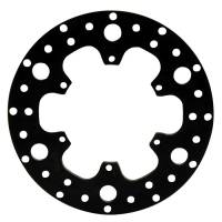 "Wilwood Rotors - Drilled Steel Rotors - Wilwood Engineering - Wilwood Drilled Steel Rotor - 10.25"" Diameter - .350"" Width - 6 x 5.50"" Bolt Circle - .325"" Hole Type - 4.94"" Lug I.D. - 4.6 lbs."