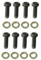 Hardware and Fasteners - Wilwood Engineering - Wilwood Rotor Bolt Kit - Hex Head - Short Profile - Lock Wired Drilled - Star Washers - (8 Pack)