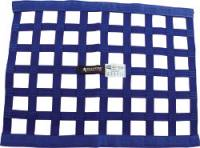 "Ribbon Window Nets - 18"" x 24"" Ribbon Window Nets - Allstar Performance - Allstar Performance Border Style Ribbon Window Net - 18"" x 24"" - Blue"