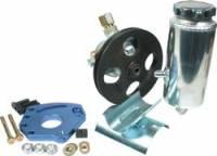 Allstar Performance Power Steering Pump Kit - SB Chevy w/ Head Mount Bracket