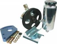 Power Steering Kits - Steel Power Steering Kits - Allstar Performance - Allstar Performance Power Steering Pump Kit - SB Chevy w/ Block Mount Bracket