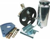 Allstar Performance Power Steering Pump Kit - SB Chevy w/ Block Mount Bracket
