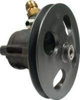 Power Steering Pumps - Steel Power Steering Pumps - Allstar Performance - Allstar Performance Power Steering Pump w/ V-Belt Pully