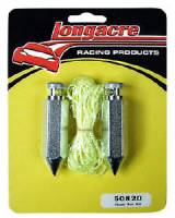 Chassis Set-Up Tools - Plumb Bobs - Longacre Racing Products - Longacre Plumb Bob Kit