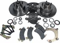 "Brake Kits - Front Brake Kits - Circle Track - Allstar Performance - Allstar Performance Mustang II Disc Brake Kit - 5 x 4-3/4"" Bolt Circle - 7/16""-20 Studs"