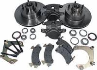 "Brake Systems - Front Brake Kits - Circle Track - Allstar Performance - Allstar Performance Mustang II Disc Brake Kit - 5 x 4-3/4"" Bolt Circle - 7/16""-20 Studs"