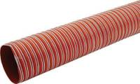 "Brake Ducts & Hose - Brake Duct Hose - Allstar Performance - Allstar Performance 3"" Double Ply Silicon Coated Woven Fiberglass Brake Duct Hose - 500 Degree Rated - 10 Ft."