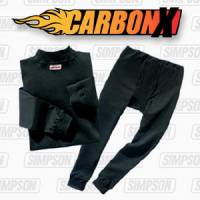 Underwear - Simpson Race Products - Simpson CarbonX® Short Sleeve Crew Neck Shirt