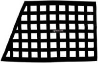 Ribbon Window Nets - Angled Ribbon Window Nets - Allstar Performance - Allstar Performance Border Style Window Net - Oblong Black